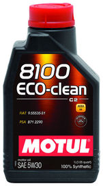Huile 5w30 8100 eco-clean motul 1 litres - motul