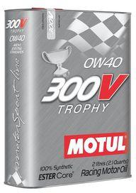 Huile 0w40 motul 300v trophy - motul