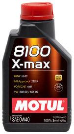 Huile 0w40 8100 x-max motul 1 litre - motul