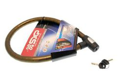 Antivol cable 1m en acier articule 25mm