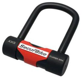 """Antivol """"u"""" securbike xxs 104x120mm"""