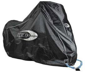 Housse moto exterieure r&g noire speciale tiger/versys