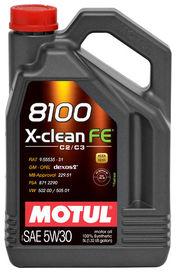 8100 x-clean efe 5w30 5l - motul