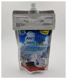 Antigel 450 ml + 1 dosette lave-glace 10g - Petit et pratique