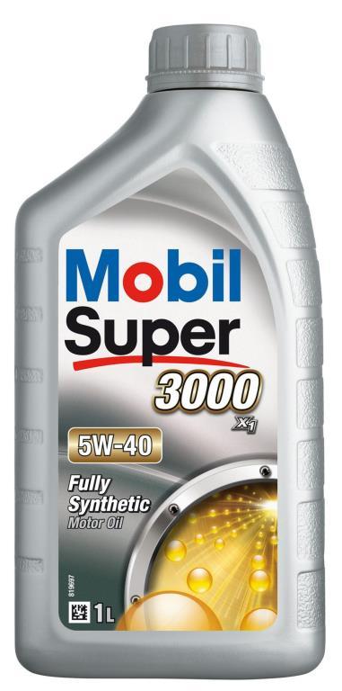 Huile moteur mobil super 3000 x1 5w40 1 litre 151165 - mobil
