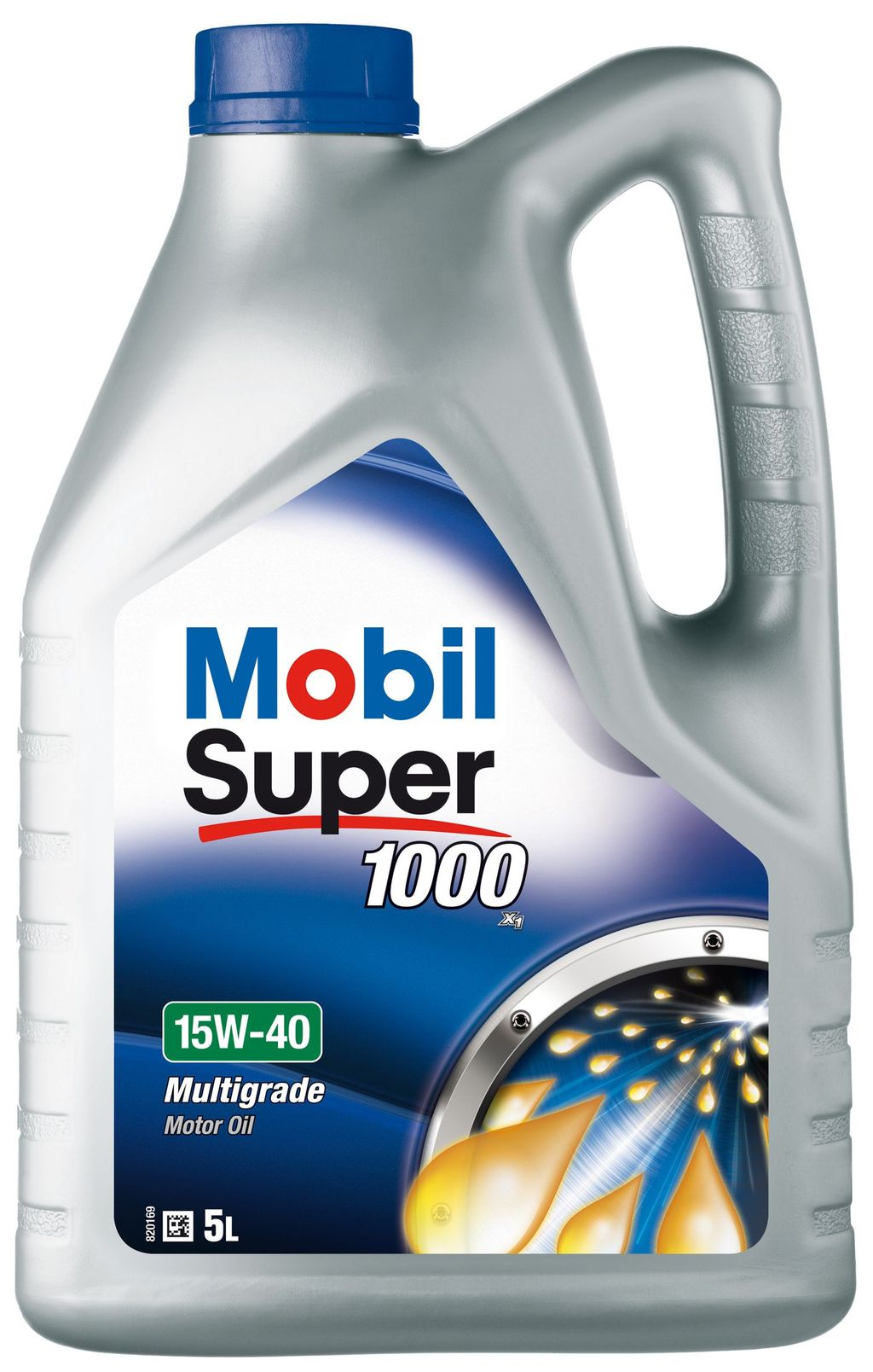 Huile moteur mobil super 1000 5 litres 15w40 - mobil