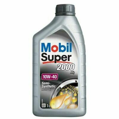 Huile moteur mobil 1 super 2000 10w-40 1 litre 050201 - mobil