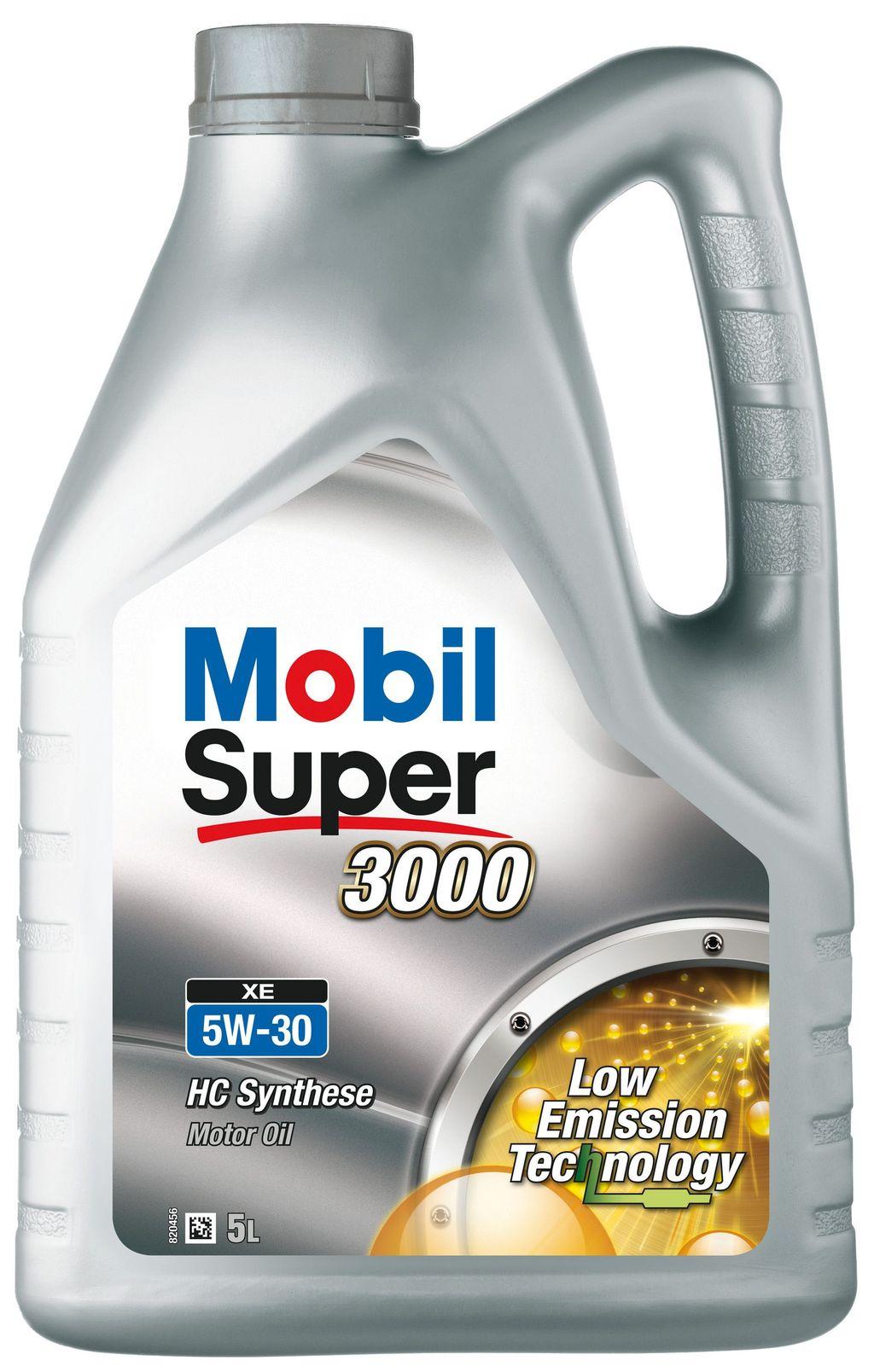 Huile moteur mobil super 3000 xe 5w30 151451 5 litres - mobil