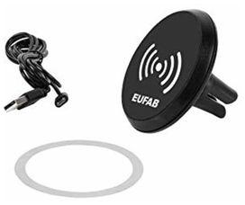 Support magnétique avec chargeur à induction - EUFAB