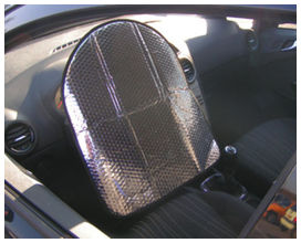 Couvre volant alu solaire            - difaxa