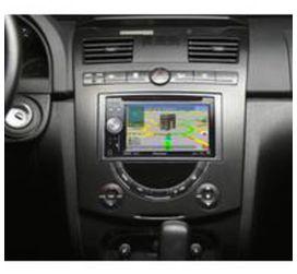Entourage autoradio 2 din pour ssangyong rexton ii - PIONEER