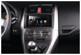 Entourage Autoradio Noir 2 Din Pour Toyota Auris Yakarouler