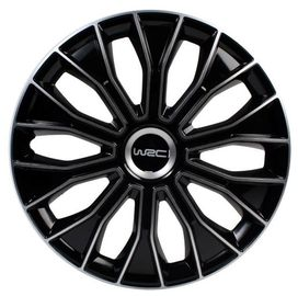"4 enjoliveurs 13"" bicolore - WRC"