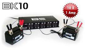 Borne de charge de batterie 10 voies 100% automatique - BS