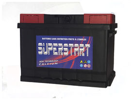 Batterie auto superstart 60 ah 510 amp gar. 3 ans - SUPERSTART