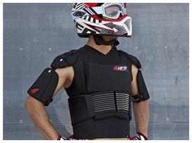 Gilet cyborg ufo noir avec ceinture t.xxl