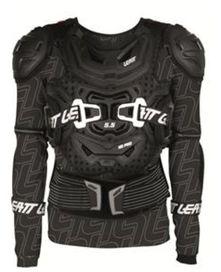 Gilet de protection avec manches leatt protector 5.5 noir t.xxl