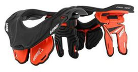 Protection cervicale leatt brace gpx5.5 junior orange/gris - LEATT