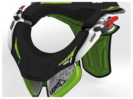 Kit mousse leatt brace gpx race vert/noir