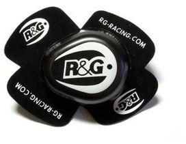 Sliders r&g racing pour genou, noir