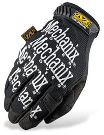 Gants mechanix original noirs logo blanc t.s