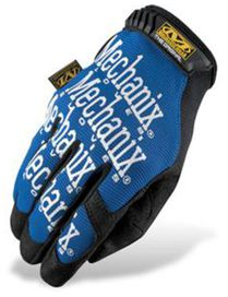 Gants mechanix original bleu t.l