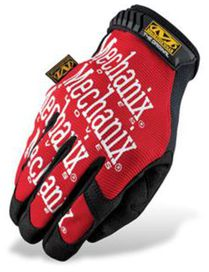 Gants mechanix original rouges t.l