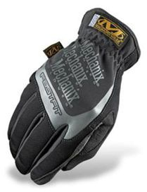 Gants mechanix fast fit noirs/gris t.l