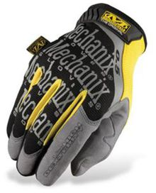 Gants mechanix original noir / gris / jaune 0.5 t.l
