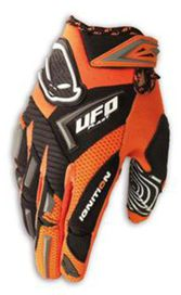 Gants ufo mx kid orange 10-13ans