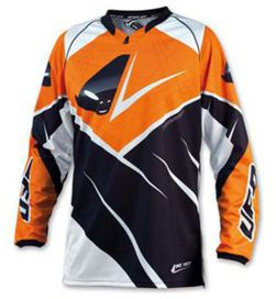 Maillot ufo mx23 orange t.xl