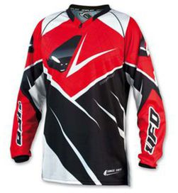Maillot ufo mx23 rouge t.m