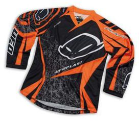 Maillot ufo mx kid orange 10-13ans
