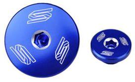 Bouchon moteur bleu scar pour yamaha