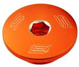Bouchon moteur orange scar pour ktm