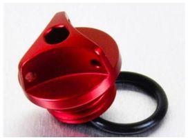 Bouchon d'huile pro-bolt alu rouge suzuki gsx-r600/1000