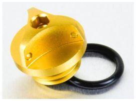 Bouchon d'huile pro-bolt alu or kawasaki z1000/zx10r