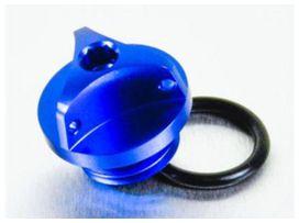 Bouchon d'huile pro-bolt alu bleu bmw s1000rr
