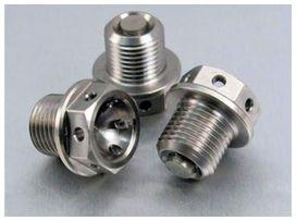 Bouchon de vidange m14x1,25x12mm pro-bolt titane
