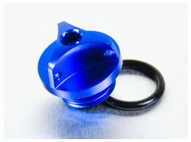 Bouchon d'huile pro-bolt alu bleu suzuki gsx-r600/1000