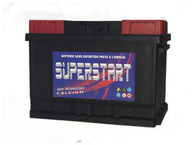 Batterie auto superstart 100 ah 720 amp gar. 3 ans - SUPERSTART