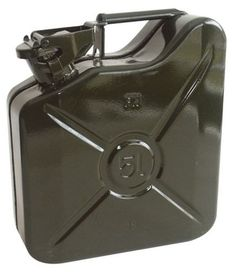jerrican metal type armee 5l difaxa yakarouler. Black Bedroom Furniture Sets. Home Design Ideas