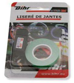 Liseré de jantes vert reflechissant (7mm) - BIHR