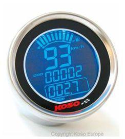 Compteur de vitesse koso dl01-s lcd gp style rond universel - KOSO