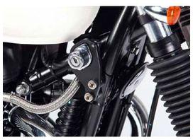Kit fixation instruments démarrage lsl noir triumph bonneville/thruxton - LSL