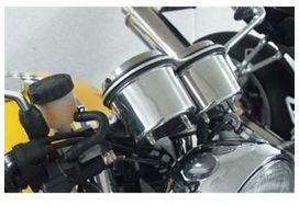 Cache compteur kilométrique + compte-tours aluminium lsl triumph thruxton - LSL