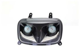 Feux booster led r8 look carbone - BIHR