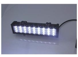 Lampe additionnelle light bar bihr 72w - 27 led - BIHR