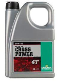 Cross power 4t 10w60 4l - MOTOREX