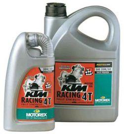 Ktm racing 4t 20w60 4l - MOTOREX